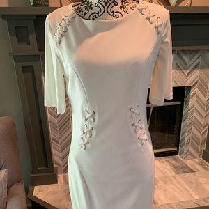 Joseph Ribkoff white dress